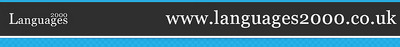 Web banner for Languages2000